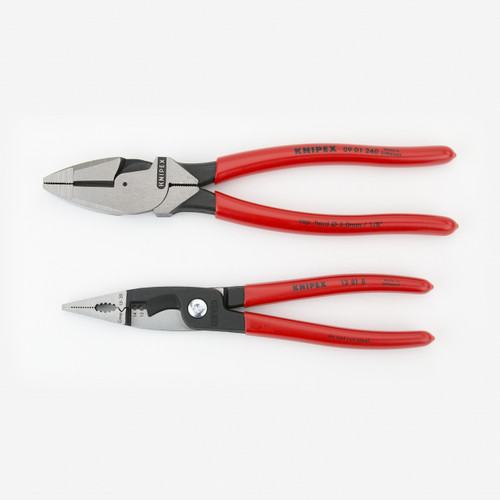 Knipex 9K-00-80-130-US 2 Pc Electrician's Set with Pouch - KC Tool