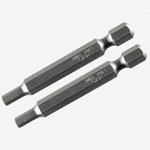 Wiha 73931 4 x 70mm Hex Power Bit - 2 Pack - KC Tool