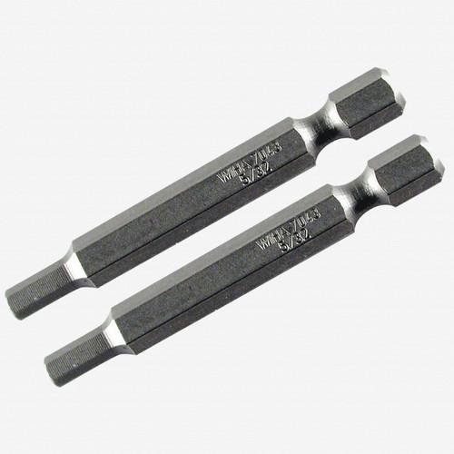 Wiha 73932 5 x 70mm Hex Power Bit - 2 Pack - KC Tool