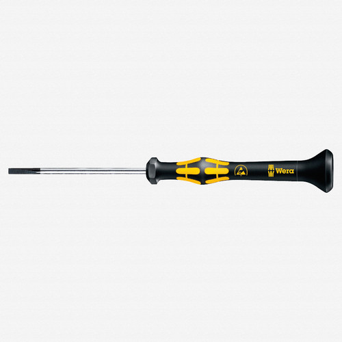 Wera 030101 1.5 x 40mm ESD Safe Slotted Precision Screwdriver - KC Tool
