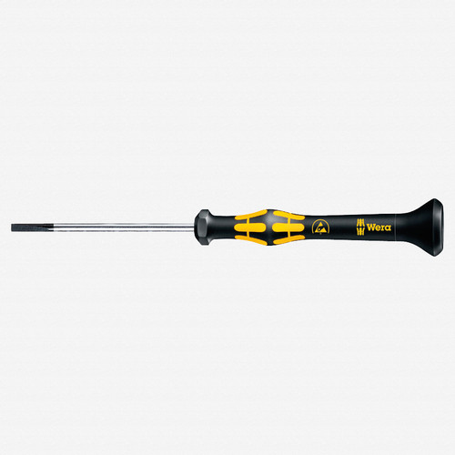 Wera 030102 1.8 x 60mm ESD Safe Slotted Precision Screwdriver - KC Tool