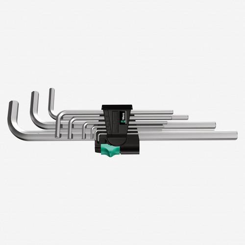 Wera 021909 Metric Chrome Hex L-key Set - KC Tool