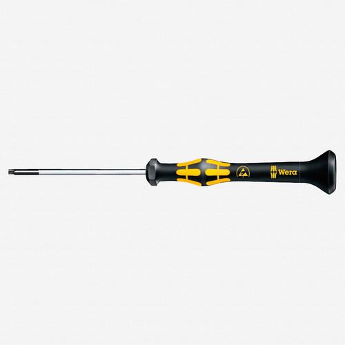 Wera 030121 T5 x 40mm ESD Safe Torx Precision Screwdriver - KC Tool