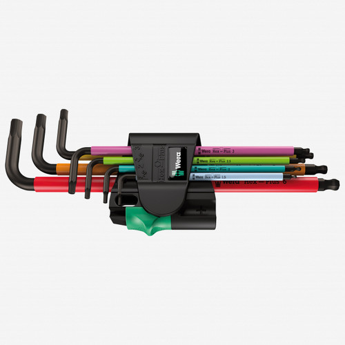 Wera 022534 Multicolor Magnetic Metric L-key Set - KC Tool