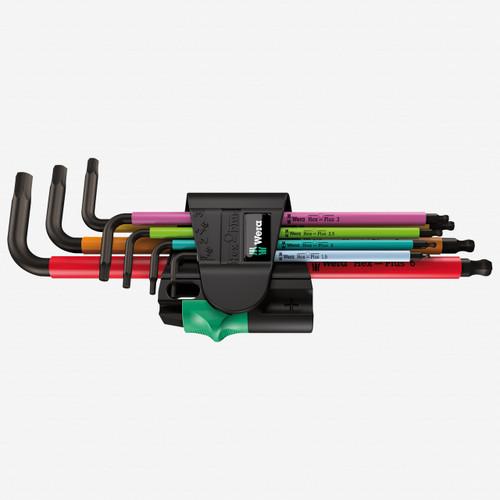 Wera 022534 Multicolor Magnetic Metric L-key Set - KC Tool