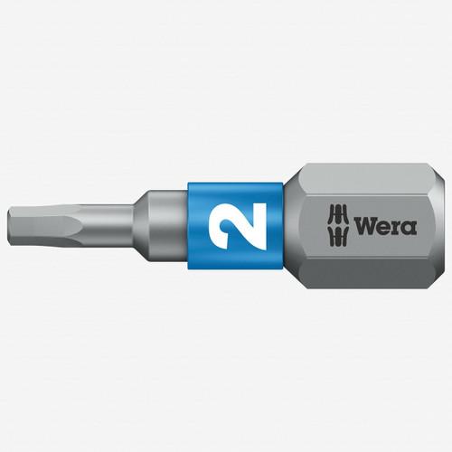 Wera 056681 Hex-Plus 2 x 25mm Insert Bit - KC Tool