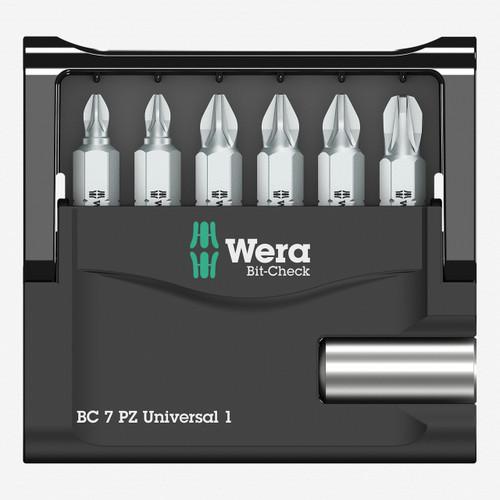 Wera 073536 Bit-Check 7 PZ Universal 1 SB - KC Tool