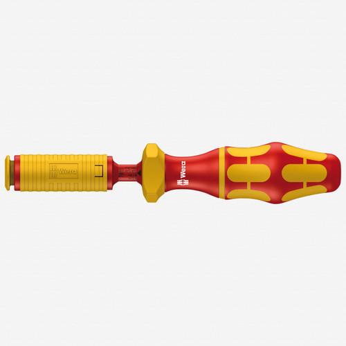 Wera 074752 VDE 0.3 - 1.2 Nm Adjustable Insulated Torque Screwdriver Handle - KC Tool