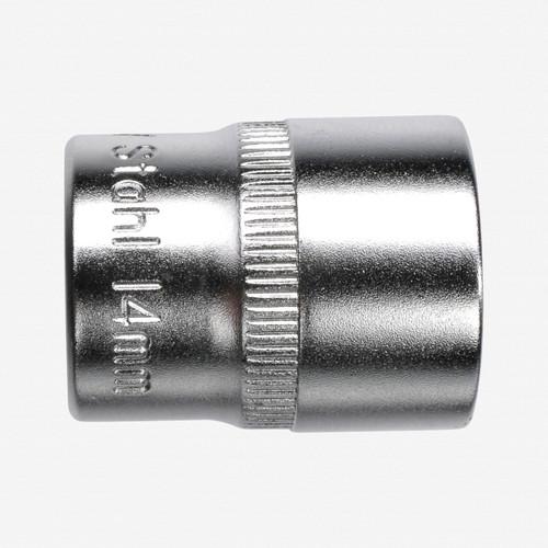 "Felo 61687 6 Point 1/4"" Socket - 1/8"" - KC Tool"