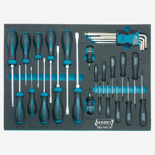 Hazet 163-141/31 Screwdriver set  - KC Tool