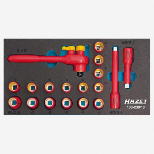 Hazet 163-230/18 VDE socket set  - KC Tool