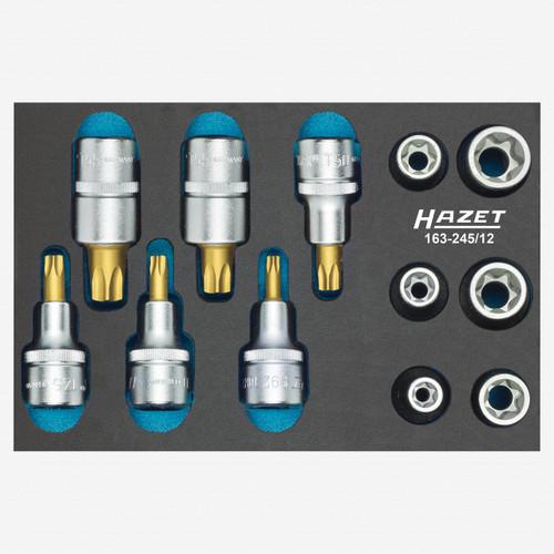 Hazet 163-245/12 Tool set, Torx  - KC Tool