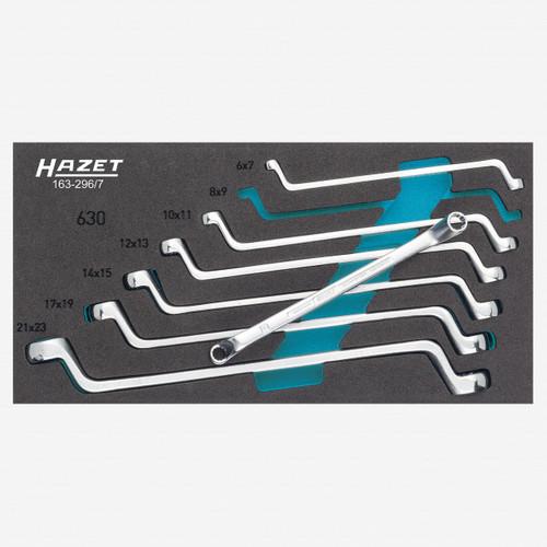 Hazet 163-296/7 Double box-end wrench set  - 12 pt - KC Tool