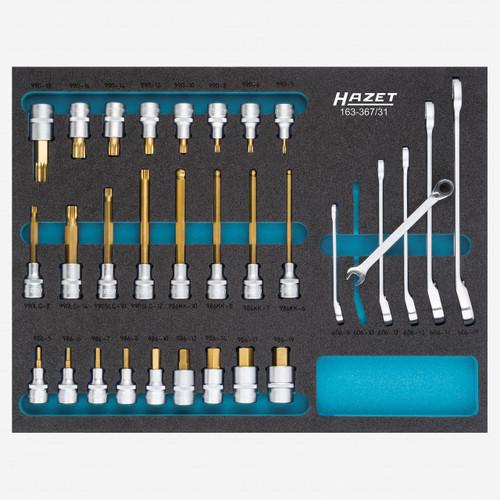 Hazet 163-367/31 Socket set  - KC Tool