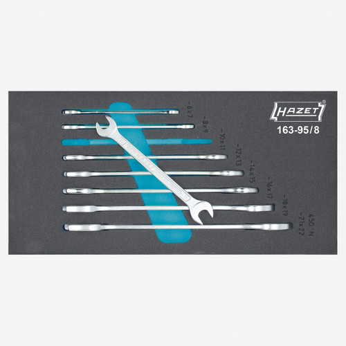Hazet 163-95/8 Double open-end wrench set  - KC Tool