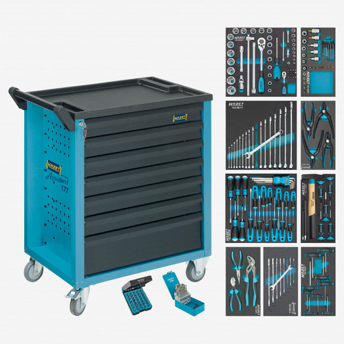Hazet 177-7/217 Tool trolley Assistent with assortment  - KC Tool