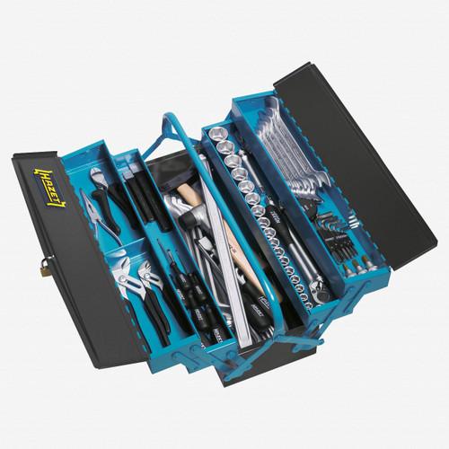 Hazet 190/80 Metal tool box with assortment  - KC Tool
