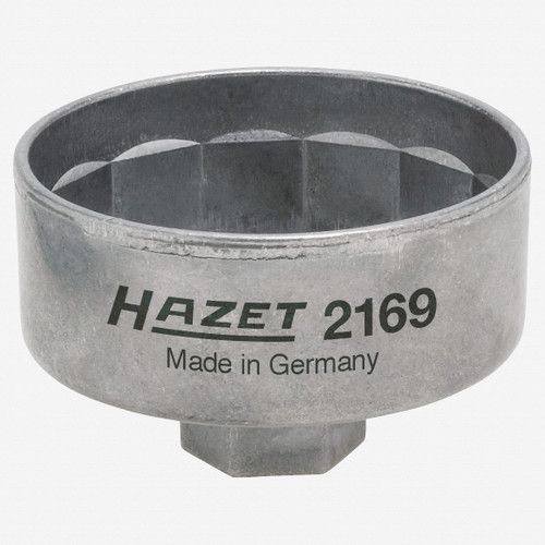Hazet 2169 Oil filter wrench - Outside 14-point profile - KC Tool