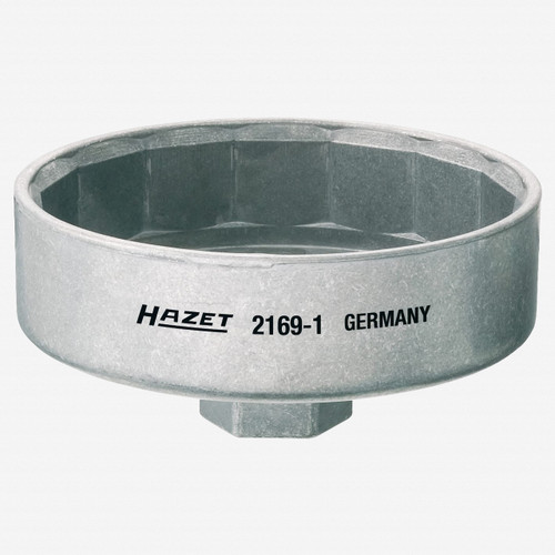 Hazet 2169-1 Oil filter wrench - Outside 15-point profile - KC Tool