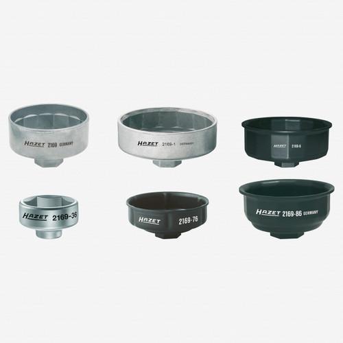 Hazet 2169/6 Oil filter wrench set  - KC Tool
