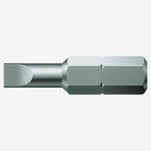 Wera 056200 0.5 x 3 x 25mm Slotted Bit - KC Tool