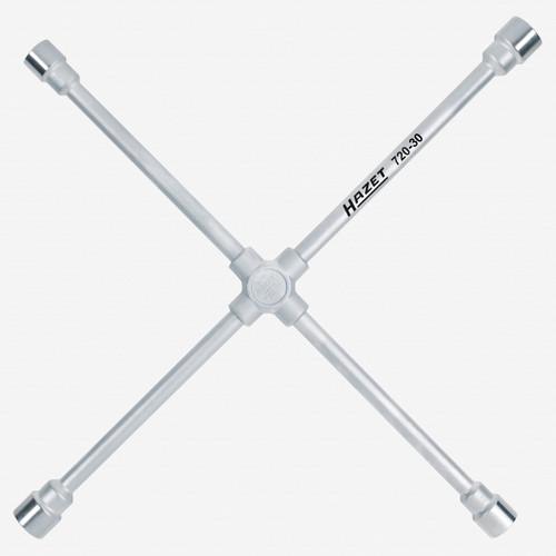 Hazet 720-30 Four-way rim wrench 24 x 27 x 30 x 32mm - KC Tool