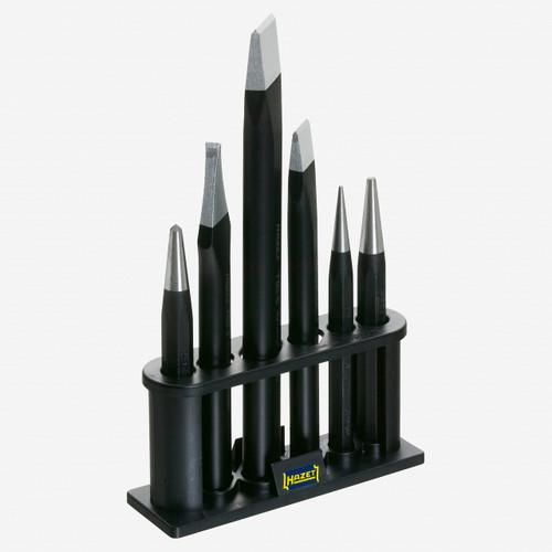 Hazet 750/6-1 Chisel, drift punch, centre punch set  - KC Tool