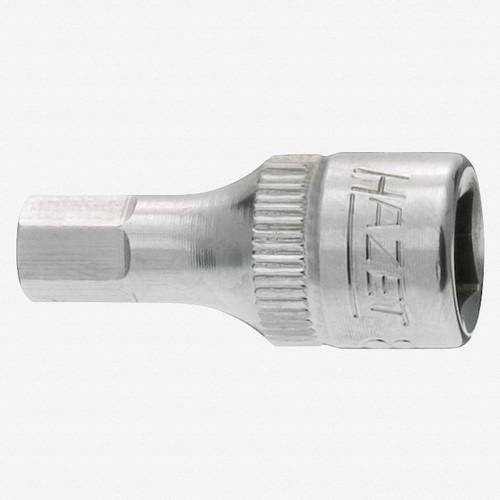 """Hazet 8501X-4 4mm Hex Stainless Bit Socket 1/4"""" - KC Tool"""