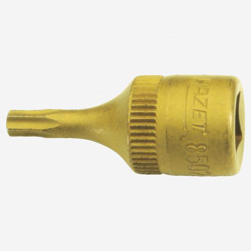 "Hazet 8502-T10 T10 Torx TiN 1/4"" Socket - KC Tool"