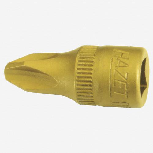 "Hazet 8506-PH2 PH #2 Phillips TiN 1/4"" Socket - KC Tool"