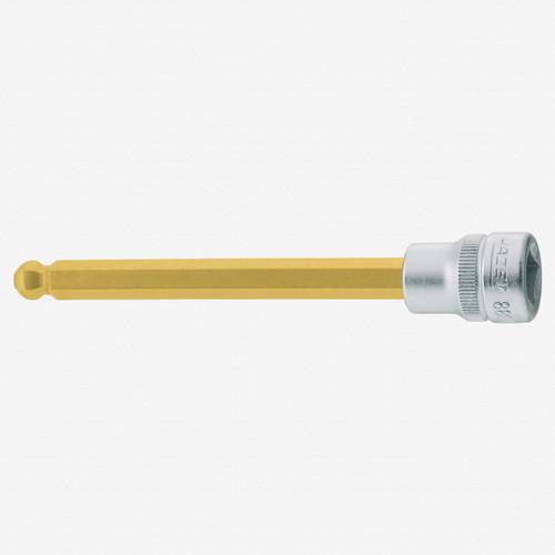 "Hazet 8801KK-8 8mm Ball End Hex TiN Socket 3/8"" - KC Tool"