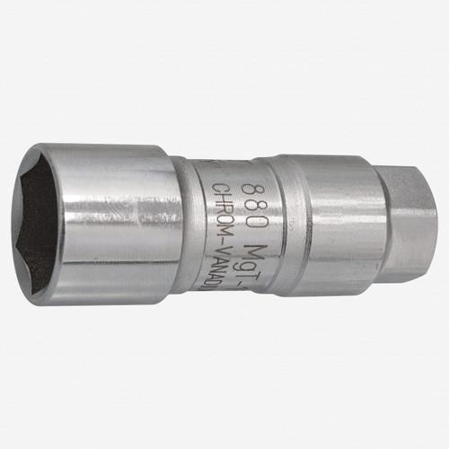 "Hazet 880MGT-18 Magnetic Motorcycle Spark plug socket 3/8""  - KC Tool"