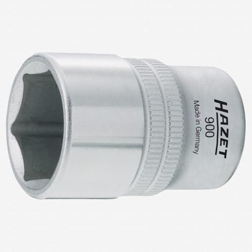 "Hazet 900-17 Socket (6-point) 17mm x 1/2"" - KC Tool"