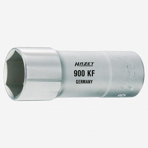 "Hazet 900KF 20.8mm Spark plug socket 1/2"" with fixing clamp - KC Tool"