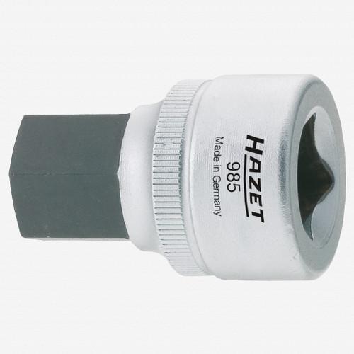 "Hazet 985-19 19mm Hex Socket 1/2"" - KC Tool"