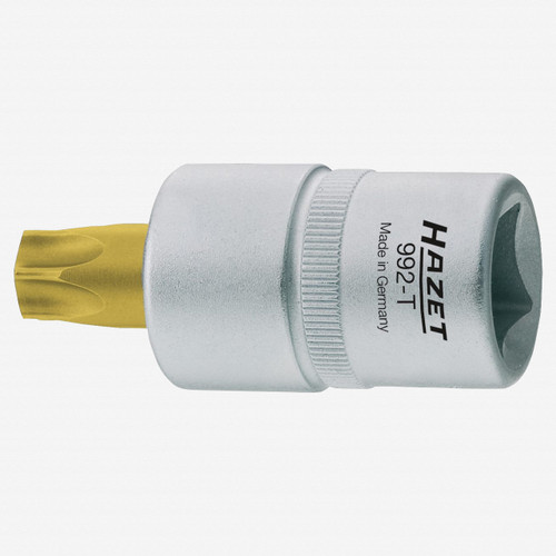 "Hazet 992-T25 T25 Torx TiN Socket 1/2"" - KC Tool"