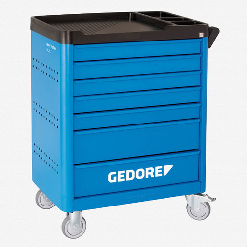 Gedore WSL-L7 Tool Trolley Workster Smartline with 7 Drawers - KC Tool