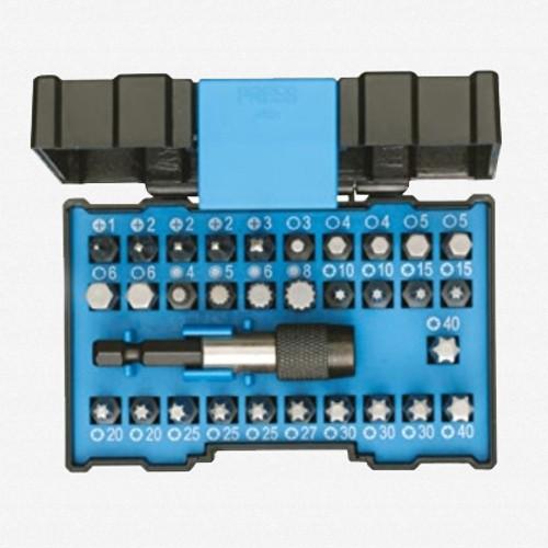Gedore 666-032-J Bit Box Industry - 32 Piece Bit Set - KC Tool