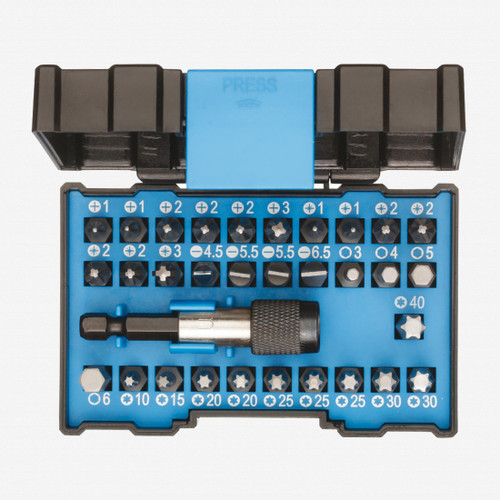 Gedore 666-032-A Bit Box Allround - 32 Piece Bit Set - KC Tool
