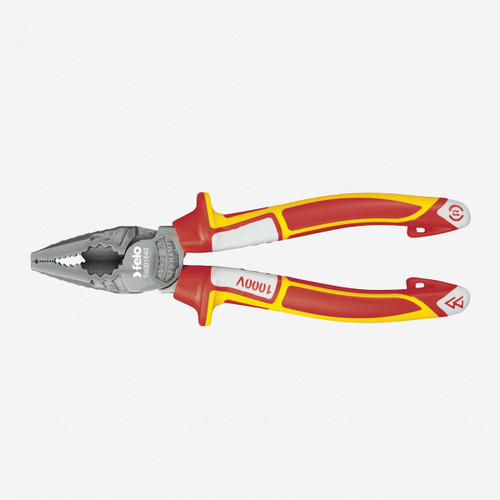 "Felo 63793 7"" Combination Pliers VDE - KC Tool"