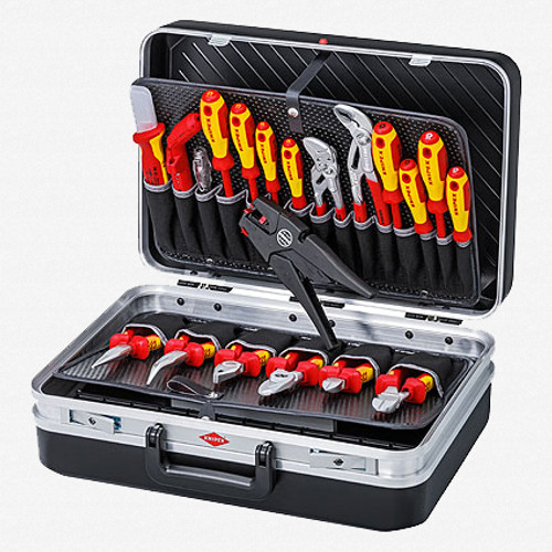 Knipex 00-21-20 20 Piece Tool Set with Case - Electric - KC Tool