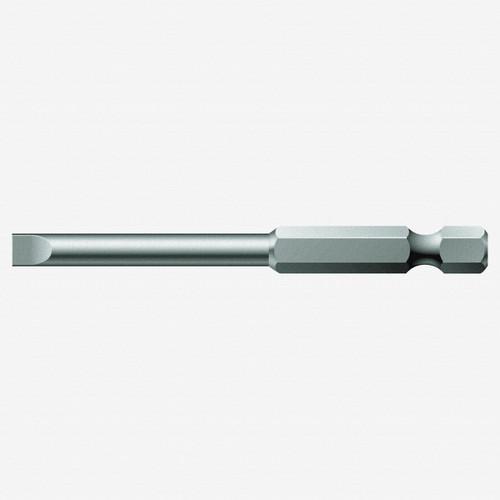 Wera 059489 0.6 x 4.5 x 89mm Slotted Power Bit - KC Tool