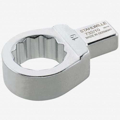 Stahlwille 732/10 Ring insert tool 10 mm, 9x12 mm - KC Tool