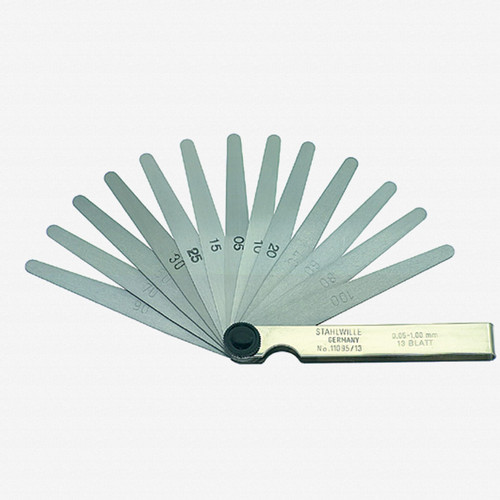 Stahlwille 11095/13 Precision Feeler Gauge 0.05 - 1.00mm - KC Tool