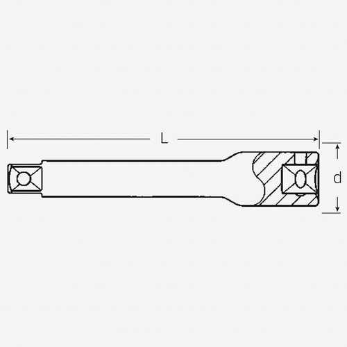 """Stahlwille 405 Extension, 1/4""""- 150 mm - KC Tool"""