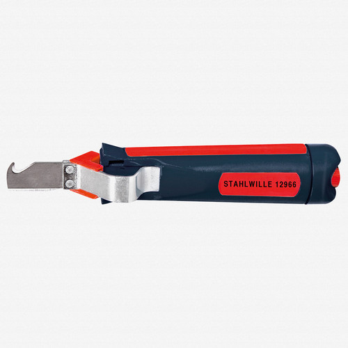 Stahlwille 12966 Wire stripping knife with hooked blade - KC Tool