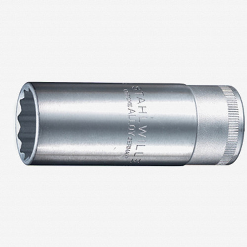 "Stahlwille 51 1/2"" Extra Deep 12-pt Socket, 16 mm - 5/8"" - KC Tool"