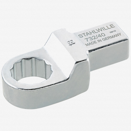 Stahlwille 732/40 Ring insert tool 19 mm, 14x18 mm - KC Tool