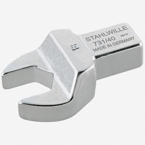 Stahlwille 731/40 Open ended insert 19 mm, 14x18 mm - KC Tool