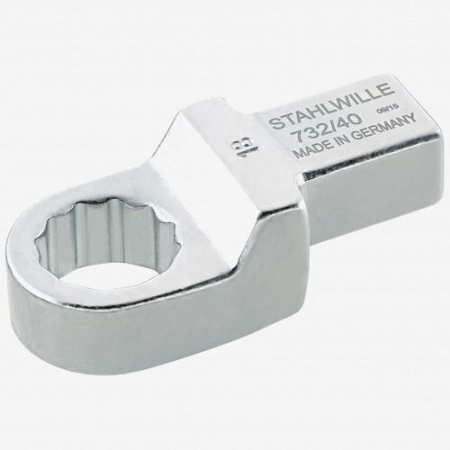 Stahlwille 732/40 Ring insert tool 30 mm, 14x18 mm - KC Tool